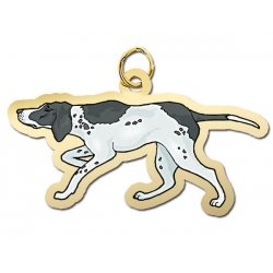 Dog   Pointer Charm