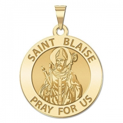 Saint Blaise Medal   EXCLUSIVE