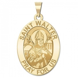 Saint Walter OVAL Medal   EXCLUSIVE