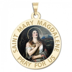 Saint Mary Magdalene Medal  Color EXCLUSIVE