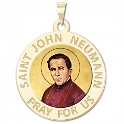 Saint John Neumann Medal  color EXCLUSIVE