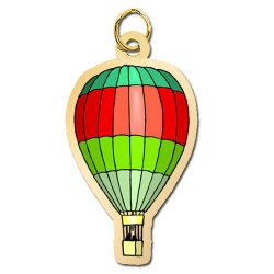 Hot Ait Balloon Charm