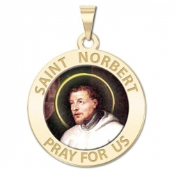 Saint Norbert Medal  Color EXCLUSIVE