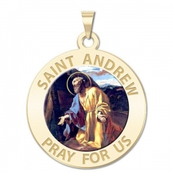 Saint Andrew Medal  Color EXCLUSIVE