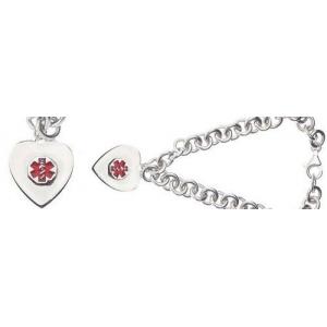 Medical Id Charm Bracelet
