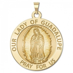 Our Lady of Guadalupe Medal   EXCLUSIVE