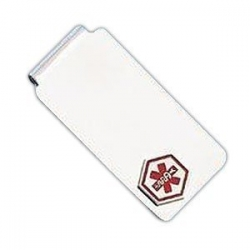 Sterling Silver Medical Money Clip
