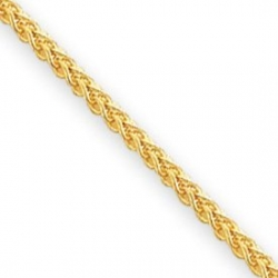 14k 2 00mm Wheat Anklet