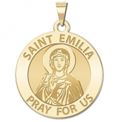 Saint Emilia Medal   EXCLUSIVE