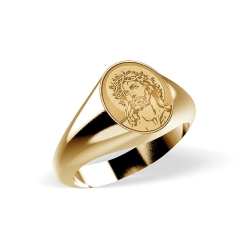 Ecce Homo Ring  EXCLUSIVE