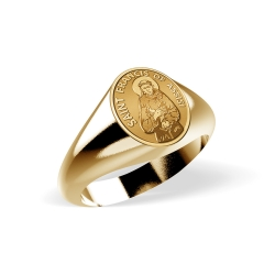 Saint Francis of Assisi Ring  EXCLUSIVE