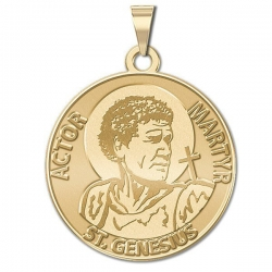Saint Genesius Medal  Actor   Martyr   EXCLUSIVE
