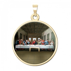 The Last Supper Medal  Color EXCLUSIVE