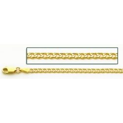 14K Yellow Gold Cuban Link Chain