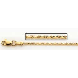 14K Yellow Gold Coreanna Link Chain