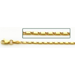 14K Yellow Gold Lumachina Chain