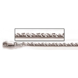 Sterling Silver Sparkle Rope Chain