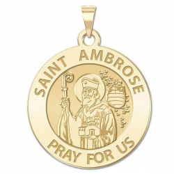 Saint Ambrose Medal  EXCLUSIVE