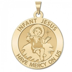 Infant Jesus  Medal  EXCLUSIVE