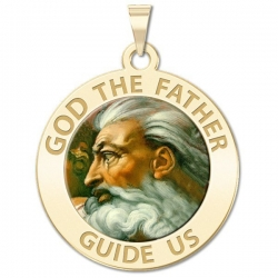 GOD the Father Medal  Color EXCLUSIVE
