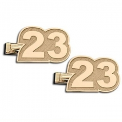 Custom Number Cuff Links