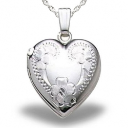 Sterling Silver Heart Small Locket