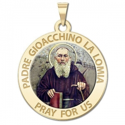 Padre Gioacchino La Lomia Medal   Color EXCLUSIVE