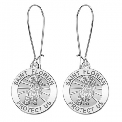 Saint Florian Earrings  EXCLUSIVE