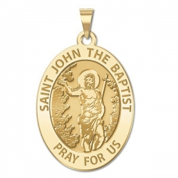 Saint John the Baptist Medal  EXCLUSIVE