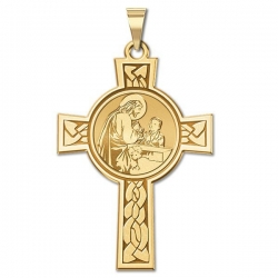 First Holy Communion Boy Cross Medal   EXCLUSIVE