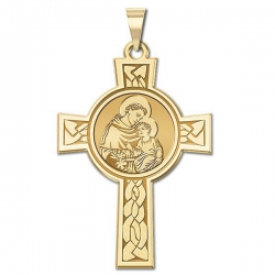 Saint Anthony Cross Medal   EXCLUSIVE