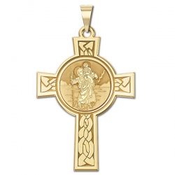 Saint Christopher Cross Medal   EXCLUSIVE