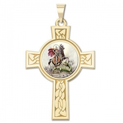 Saint George Cross Medal   Color EXCLUSIVE