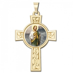 Saint Jude Cross Medal   Color EXCLUSIVE