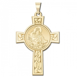 Our Lady of Mount Carmel Cross Medal   EXCLUSIVE