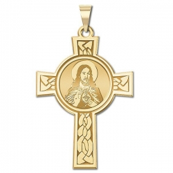 Sacred Heart of Jesus Cross Medal  EXCLUSIVE
