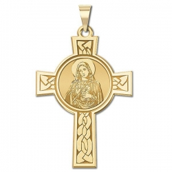 Sacred Heart of Mary Cross Medal  EXCLUSIVE