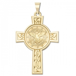 Holy Spirit Cross Medal   EXCLUSIVE