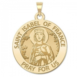 Saint Isabel of France Medal  EXCLUSIVE