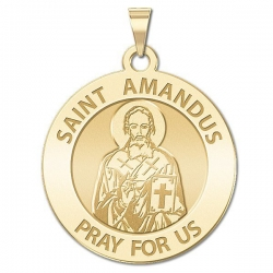 Saint Amandus Medal  EXCLUSIVE
