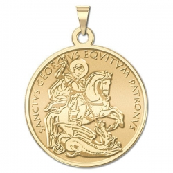 Saint George  Plain   Medal  EXCLUSIVE