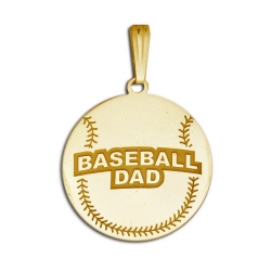 Baseball Dad Pendant
