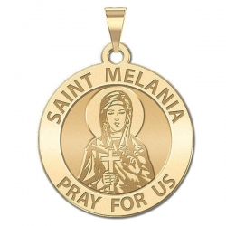 Saint Melania OVAL Medal   EXCLUSIVE
