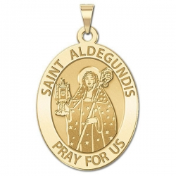 Saint Aldegundis Medal  EXCLUSIVE