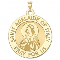 Saint Adelaide of Italy Medal    EXCLUSIVE