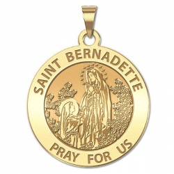 Saint Bernadette Medal   EXCLUSIVE