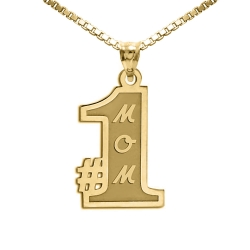 1 Mom Pendant or Charm