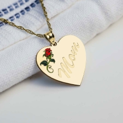Mom Rose Heart