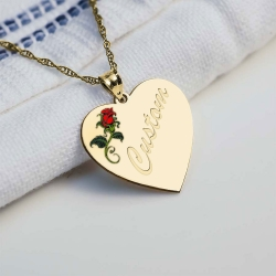 Customized Rose Heart