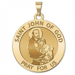 Saint John of GOD Medal  EXCLUSIVE